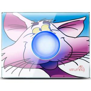 Декоративная панель Vitrumino I EU кот, стекло