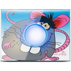 Декоративная панель Vitrumino I EU мышь, стекло