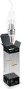 Свеча прозрачная на ветру 5Вт E14 2700K, LED