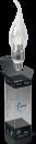 Свеча прозрачная 5Вт E27 4100K, LED