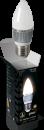 Свеча 6Вт E27 2700K, LED