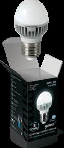 Шар 6Вт E27 4100K, LED
