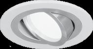 Светильник Gauss Aluminium AL010 Круг. Белый/Хром, Gu5.3 1/50