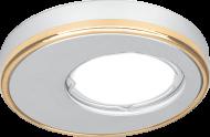 Светильник Gauss Aluminium AL003 Круг. Матовый алюминий/Золото, Gu5.3 1/30