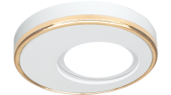 Светильник Gauss Aluminium AL004 Круг. Белый/Золото, Gu5.3 1/30