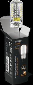 Лампа Gauss LED G4 3W AC85-265V 2700K