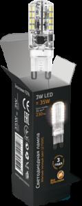 Лампа Gauss LED G9 3W AC85-265V 2700K