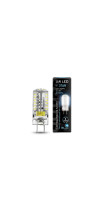 Лампа Gauss LED GY6.35 AC85-265V 4100K 1/20/200