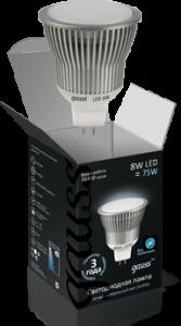 Лампа MR16 8Вт GU5.3 AC220-240В 4100K, LED