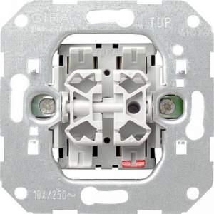 00010500 Механизм выключателя 2-клавишного (F100)