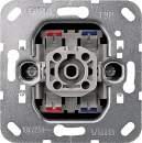 00010600 Механизм выключателя 1-клавишного с 2-х мест (F100)
