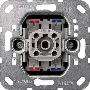 00010700 Механизм перекрестного выключателя 1-клавишного (F100)