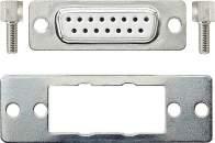 002200 Штепсельный разъем D-Subminiature 15-контактный