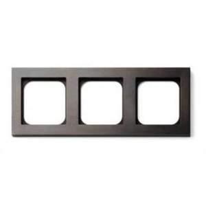 Рамка - 3 поста - бронза арт.003-05
