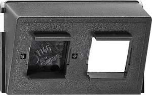 005800 Вставка для Modular Jack/Western Technology AT+T двойная
