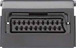 009300 Вставка с гнездом Scart/Euro-AV