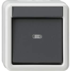 010230 Выключатель одноклавишный 2-полюсный. IP66
