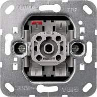 010600 Механизм выключателя 1-клавишного. с 2-х мест