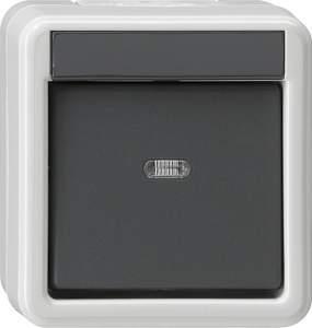 010630 Выключатель одноклавишный IP44