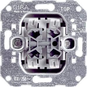 010800 Механизм выключателя 2-клавишного. с 2-х мест