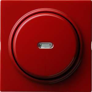 012043 Выключатель с самовозвратом с клавишей с подсветкой