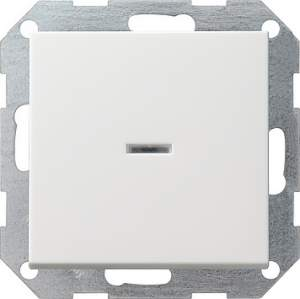 012227 Выключатель с клавишей 2-полюсный