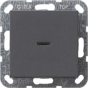 012228 Выключатель с клавишей 2-полюсный