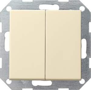 012501 Выключатель с самовозвратом 2 клавишный