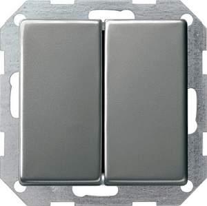 012520 Выключатель с самовозвратом 2 клавишный