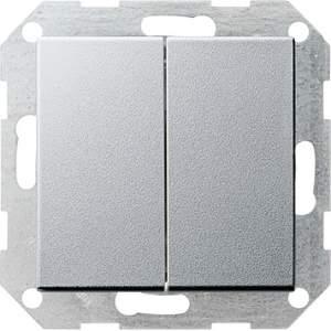 012526 Выключатель с самовозвратом 2 клавишный
