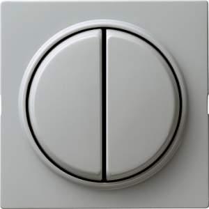 012542 Выключатель с самовозвратом 2 клавишный