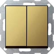 0125604 Выключатель с самовозвратом 2 клавишный