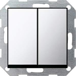 0125605 Выключатель с самовозвратом 2 клавишный