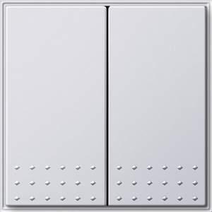 012566 Выключатель с самовозвратом 2 клавишный