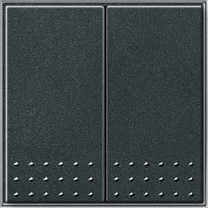 012567 Выключатель с самовозвратом 2 клавишный