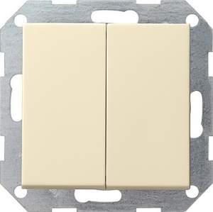 012801 Двойной выключатель с 4 выходами
