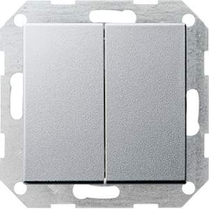 012826 Двойной выключатель с 4 выходами