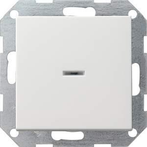 013627 Выключатель с клавишей с подсветкой