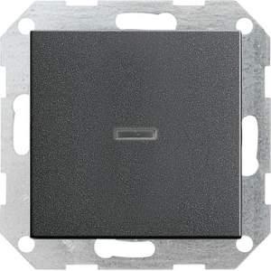 013628 Выключатель с клавишей с подсветкой