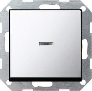 0136605 Выключатель с клавишей с подсветкой