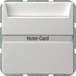 014003 Карточный выключатель с полем для надписи