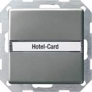014020 Карточный выключатель с полем для надписи