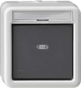 015231 Кнопочный выключатель с полем для надписи IP66
