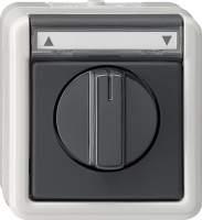 015430 Управление жалюзи с ручкой с полем для надписи IP44
