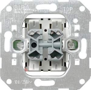 015500 Кнопочный механизм двухклавишный