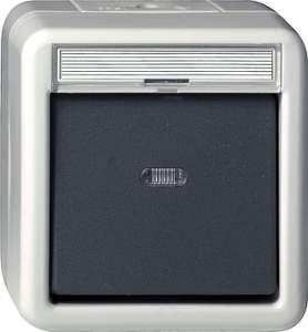 015630 Кнопочный выключатель одноклавишный IP44