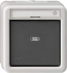 015631 Кнопочный выключатель одноклавишный IP66