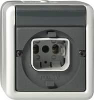 016930 Световой сигнал Е10 или Е14 со штифтовым замком для крышек со штифтовым замком