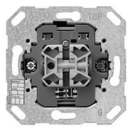 018200 Кнопочный шинный соединитель двухклавишный. 1-полюсный