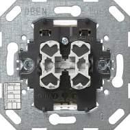 018500 Кнопочный шинный соединитель двухклавишный. 2-полюсный